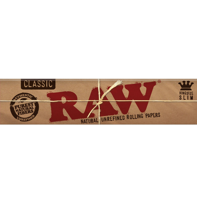 RAW Natural King Size Slim | 50 pk | Retail Display