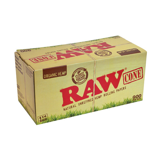 RAW Cones 1 1/4 Size | 900 pk | Internal Use