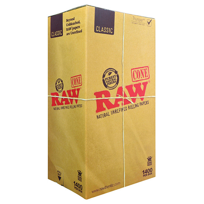 RAW Cones King Size | 1400 pk | Internal use