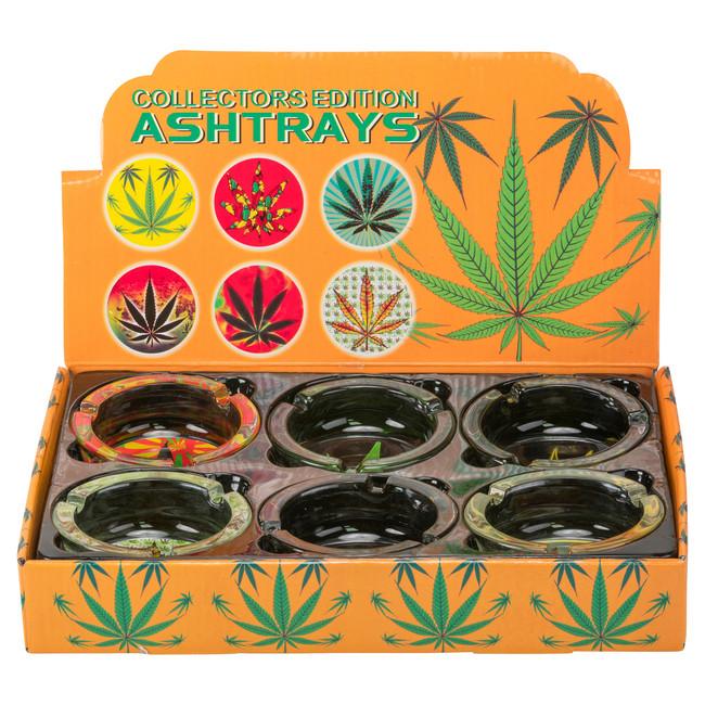 Glass Ash Tray | 6ct Display
