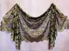 Gold Spanish Mantilla Shawl
