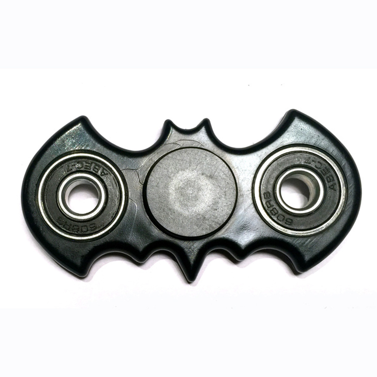 Black Batman Fidget Spinner With Metal Ball Bearings