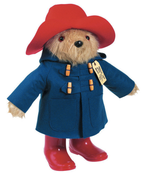 Vintage Giant Paddington Bear in Boots 45cm