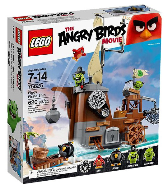 LEGO The Angry Birds Movie Piggy Pirate Ship 75825