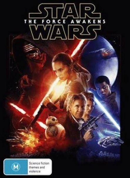 Star Wars: The Force Awakens DVD