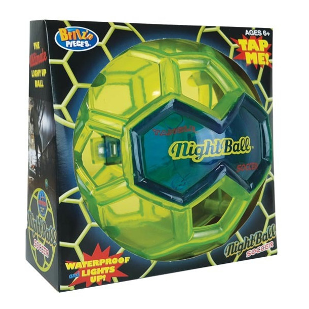 Nightball Soccer Ball by Britz n Pieces