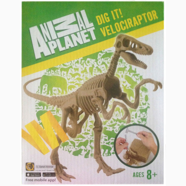 Animal Planet - Dig It! Velociraptor