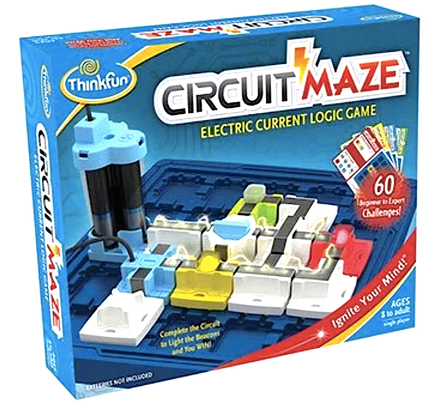 Circuit Maze Electric Current Logic Game by ThinkFun