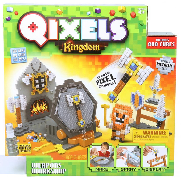 Qixels Kingdom Weapons Workshop