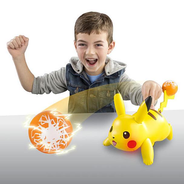 Pokemon Battle Moves Pikachu