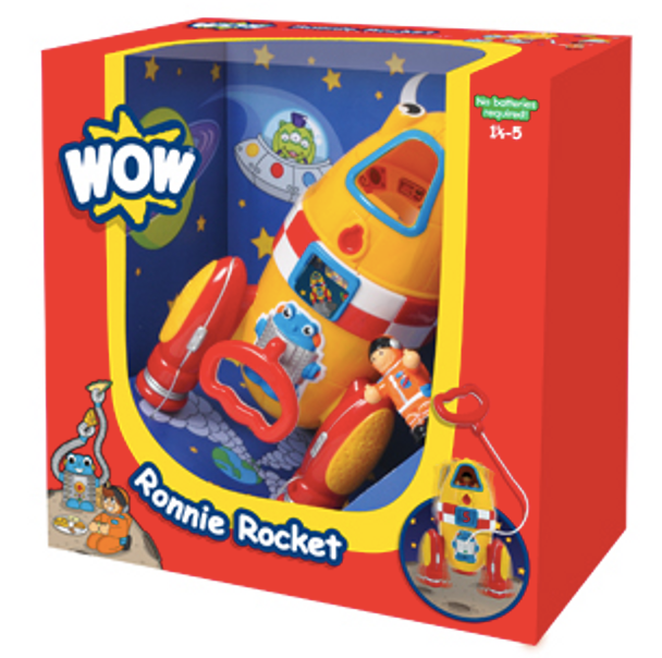 Ronnie Rocket by WOW Toys