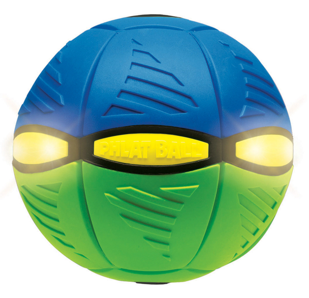 Britz'n'Pieces Phlat Ball Flash - Green/Blue