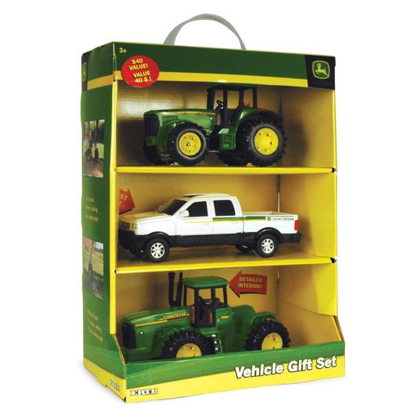 John Deere 3 Vehicle Gift Set