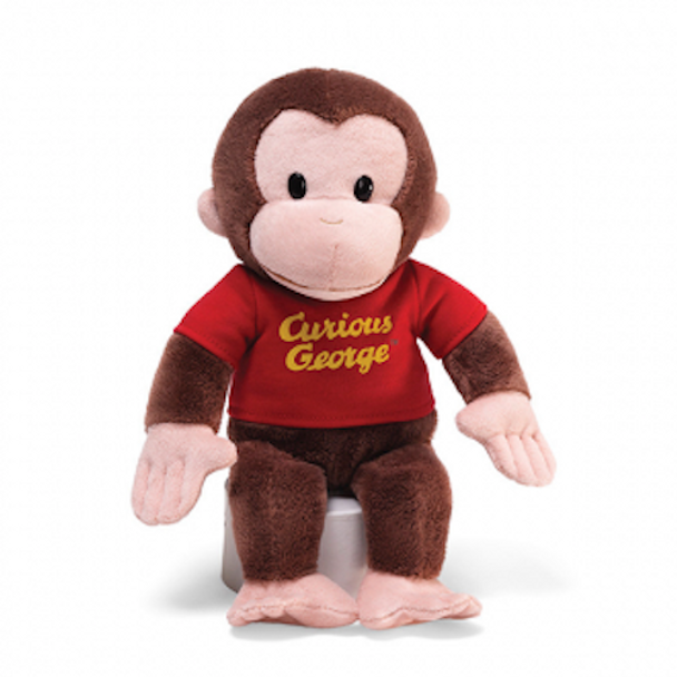 Curious George Red Shirt 30cm