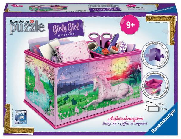 Unicorns Storage 3D Puzzle Box by Ravensburger