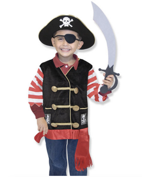 Pirate Role Play Costume Set by Melissa & Doug