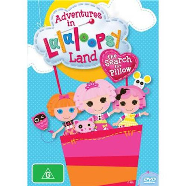 Adventures in Lalaloopsy Land - The Search for Pillow DVD