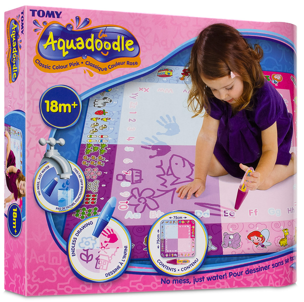 Aquadoodle Classic Colour Pink Mat by TOMY
