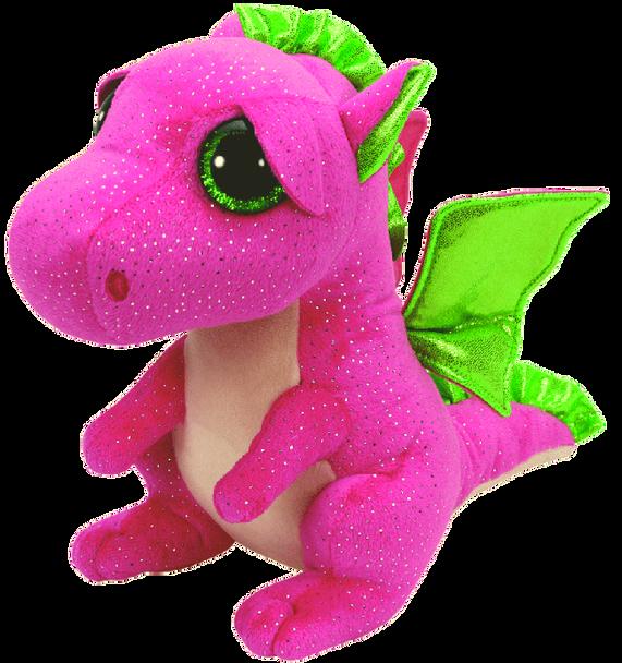 Darla the Pink Dragon (Medium) - TY Beanie Boos