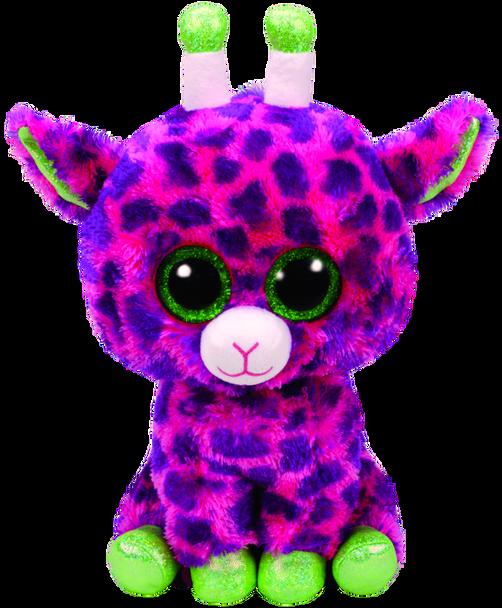 Gilbert the Pink Giraffe (Medium) - TY Beanie Boos