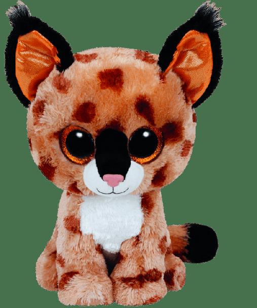 Buckwheat the Brown Lynx (Medium) - TY Beanie Boos