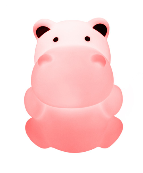 Delight Decor - Rechargeable LED Night Light Hippo