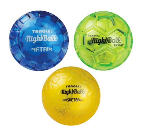 Britz'n'Pieces Nightball Mini Balls - SET OF 3 BALLS