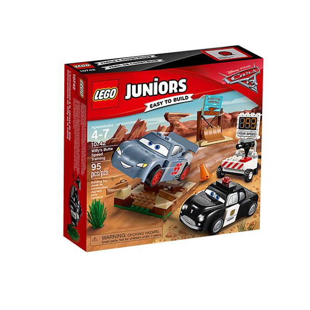 Lego Juniors Willy's Butte Speed Training