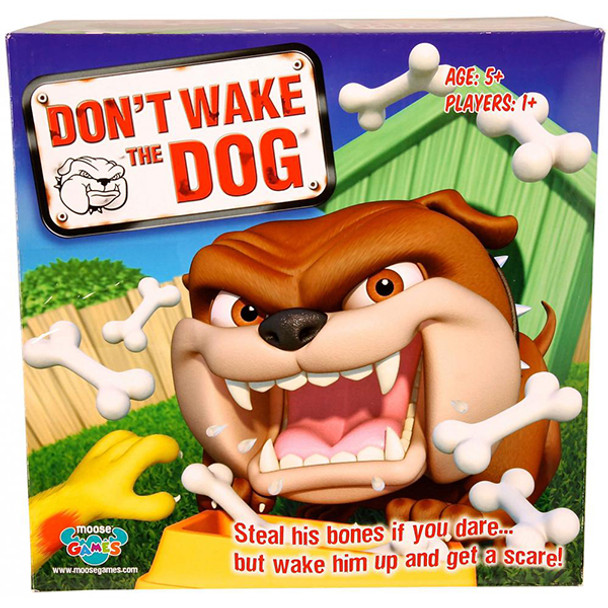 Moose Don't Wake The Dog - Card Game