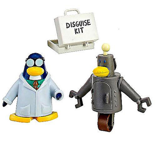 Club Penguin 2 inch Mix 'n Match Figure Pack - Gary the Gadget Guy