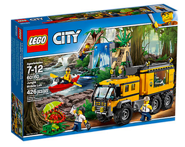 LEGO City 60160 Jungle Mobile Lab
