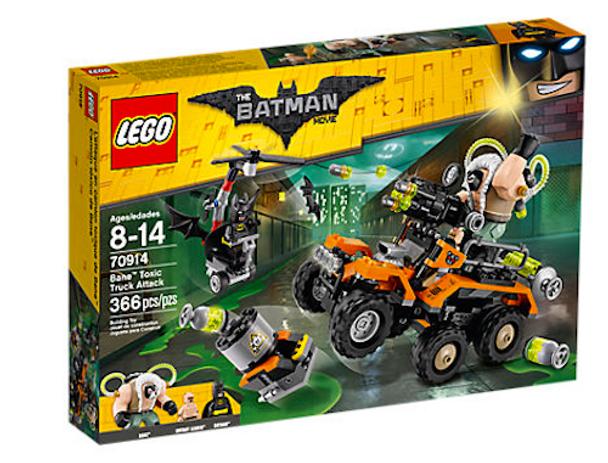 LEGO Batman 70914 Bane Toxic Truck Attack