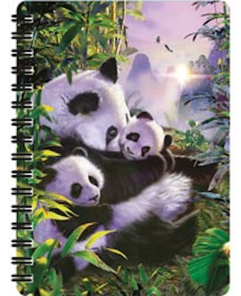 3D LiveLife Jotter – Panda's Retreat