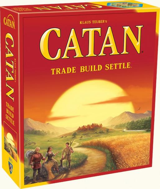 Catan: Trade Build Settle Board Game