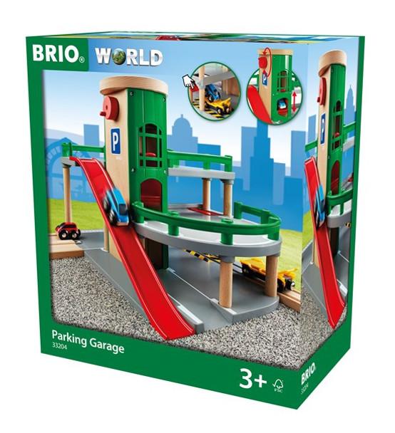 BRIO Wooden Parking Garage (B33204)