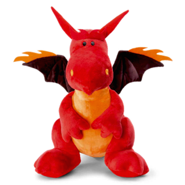Fire Dragon the Red Dragon by NICI - 30 cm Plush