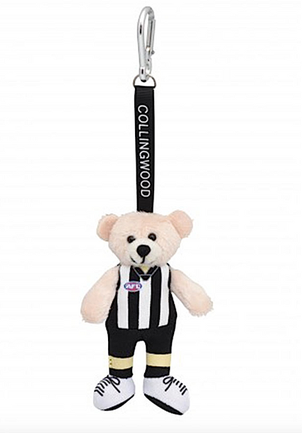 AFL Beanie Kid Bear Collingwood Magpies