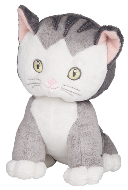 Shy Little Kitten Beanie Plush