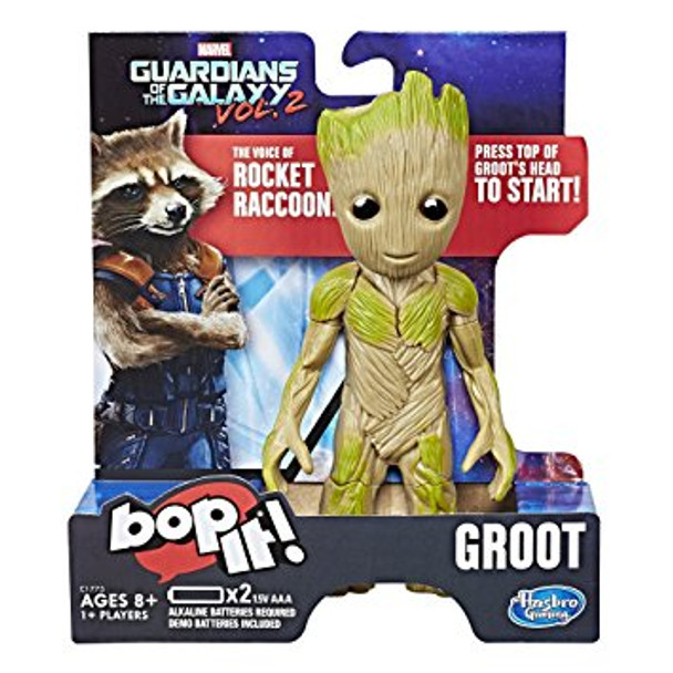 Bop it! Guardians of the Galaxy Groot Edition Game