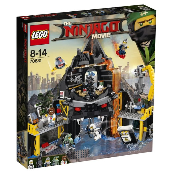 LEGO Ninjago 70631 Ninjago Movie Garmadon's Volcano Lair