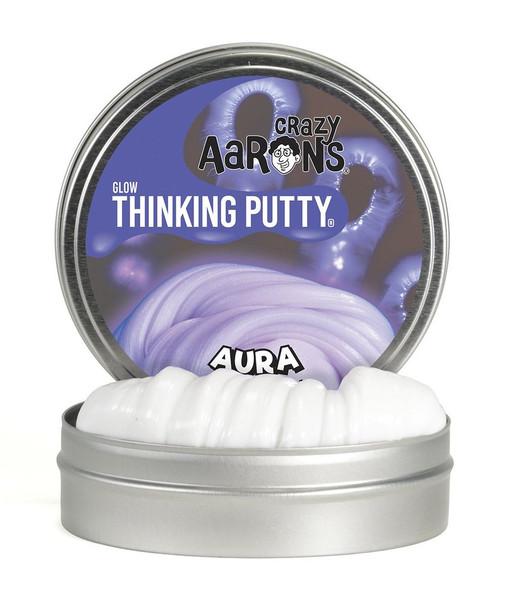 Crazy Aarons Aura Glow in the Dark Thinking Putty