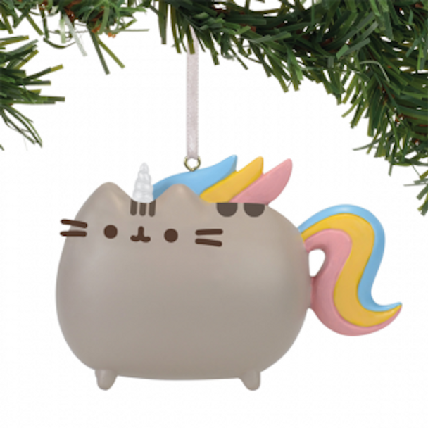 Pusheen Ornament Magical Unicorn