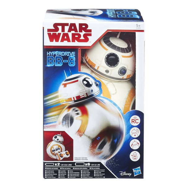 Hasbro Star Wars BB-8 Remote Control Hyperdrive Droid