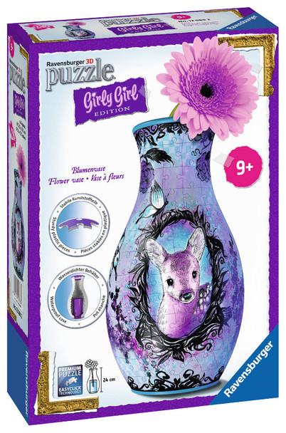 Animal Trend Flower Vase 3D Puzzle 216pc