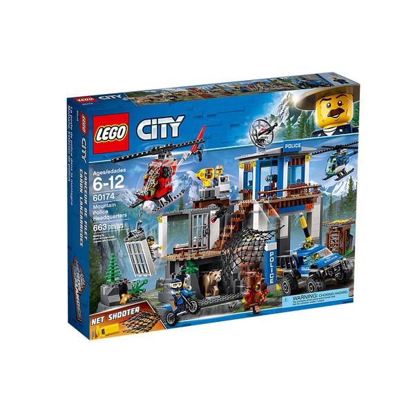 Lego City 60174 Mountain Police Headquarters