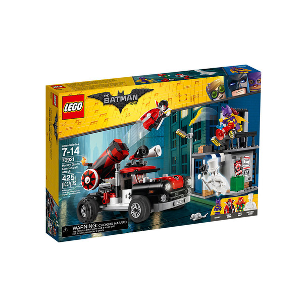 LEGO Batman 70921 Harley Quinn Cannonball Attack