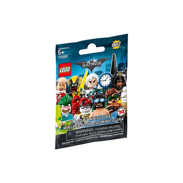 Lego Minifigures The Lego Batman Movie Series 2 (10 Pack- Random Mystery bags)
