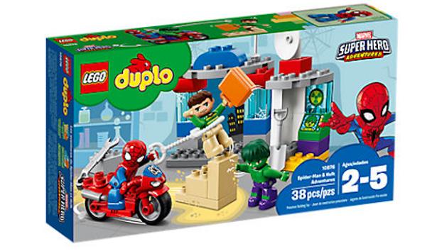LEGO Duplo 10876 Spider-Man & Hulk Adventures