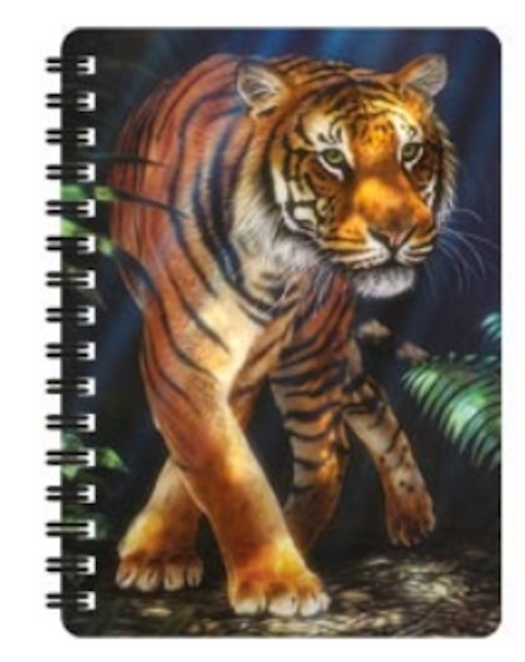 3D LiveLife Jotter – Out Of The Jungle A6 Notebook