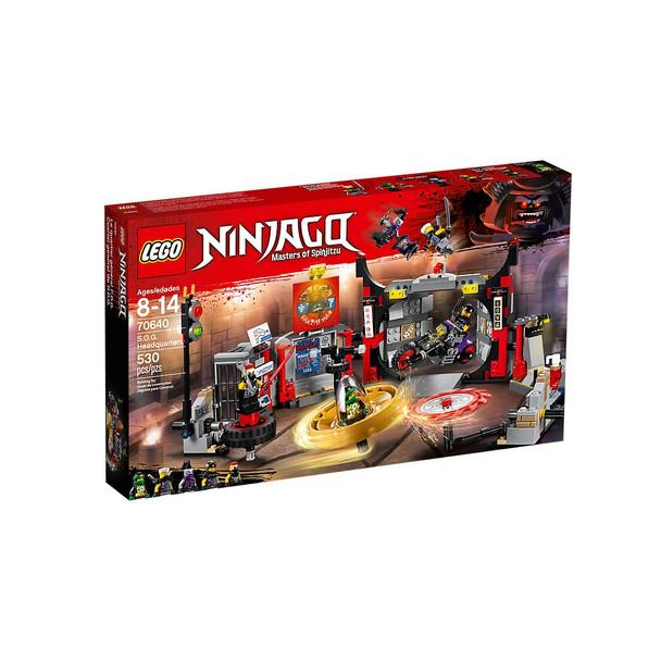 LEGO® Ninjago 70640 S.O.G. Headquarters
